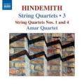 Hindemith: Streichquartette 1 und 4